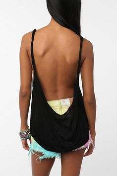 Daydreamer LA Twisted Low Back Tank  #UrbanOutfitters
