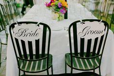 bride and groom chair detail  I milou + olin photography  #wedding ideas #diy #rustic