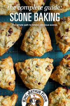 The best scones? Our informative scone-baking guide shows you… The best scones? Our informative scone-baking guide shows you how. The complete guide: Scone Baking Brunch Recipes, Breakfast Recipes, Dessert Recipes, Breakfast Scones, Baking Scones, Bread Baking, Beaux Desserts, Think Food, Cookies