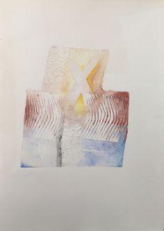 Título: Proyecto máquina 2  Autor: Alvaro Galindo Vácha  Dimensiones: 70 x 80 cm  Técnica: Mixta sobre papel  Año: 2008  Firmado: Frente y Revés