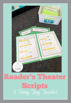 Reader's Theater Scripts perfect for centers or small group instruction. These plays are designed and created with beginning readers in mind. Each play has large font, picture clues, and predictable sentence patterns. This particular pack offers two plays with varied sentence structure and more practice with CVC words.