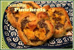 Sweet Tea and Cornbread: Sausage Pinwheels!