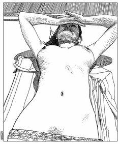 Arte de 'Apollonia Saintclair'.  Clique na imagem ver mais sobre.  love her work :) algo light jojojo