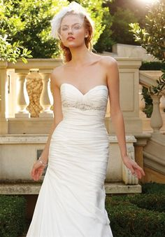 Tried This On In San Jose Casablanca Bridal 2049