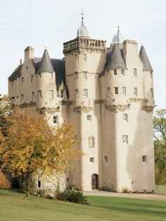 Craigievar Castle, Aberdeenshire, Highland Region, Scotland, United Kingdom