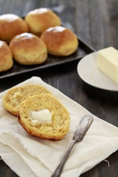 Sweet Potato Dinner Rolls from @Katie Goodman. This week's theme for the Holiday Recipe Exchange is your YEAST BAKING. Come enter a great giveaway from Red Star Yeast that includes all 3 of Artisan Bread in Five Minutes a Day cookbooks.
