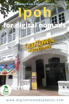 City rating of Ipoh as a digital nomad destination. Internet, food, safety, people, sights and other categories. Ipoh Malaysia, Digital Nomad, City, Cities
