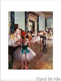 Edgar Degas - Tanzklasse