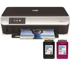 ENVY 5532 Wireless All-in-One Inkjet Printer with extra set of HP ink