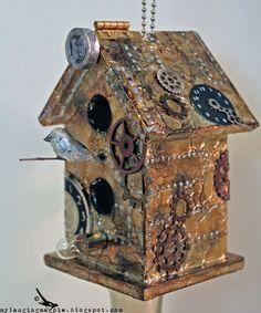 steampunk birdhouse - Google Search