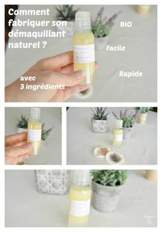 BIENVENUE CHEZ VERO - Comment faire son démaquillant naturel bio You are in the right place about Beauty Hacks diy Here we offer you the most beautifu Homemade Makeup Remover, Natural Makeup Remover, Beauty Hacks Nails, Beauty Hacks Skincare, Beauty Products, Skin Products, Natural Organic Makeup, Natural Make Up, Natural Beauty