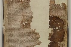 """Amazing! Original Magna Carta Copy Found in Scrapbook"" -- Just in time for the 800th anniversary this year (2015)."