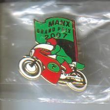 Manx Grand Prix badge 2007