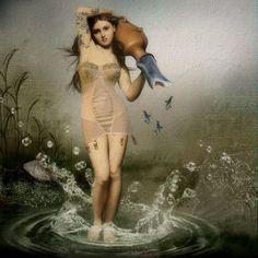 Background:  EenasCreations @ Mischief Circus. Nymph:  Itkupilli Imagenarium @ Mischief Circus.