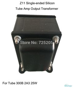 Tube Amplifier Output Transformer Z11 Single-ended Silicon Steel EI Transformers 300B 2A3 Power 25W Audio HIFI DIY