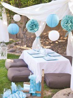 Modern dandelion party
