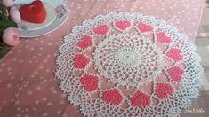 Free Crochet Doily Patterns, Crochet Placemats, Crochet Doily Diagram, Crochet Motif, Crochet Dollies, Thread Crochet, Doilies, Etsy Store, Crochet Carpet