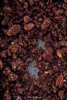 Moje Wypieki | Czekoladowa granola