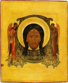 Mandylion (Image of Edessa). First half of the 19th century