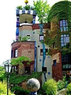 Hundertwasser Haus Viena