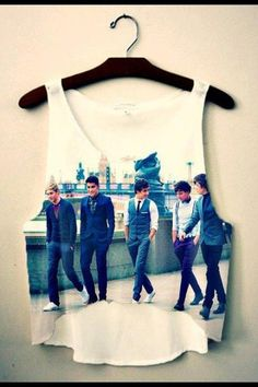 I like this one. Most 1D shirts look tacky but this one is nice.