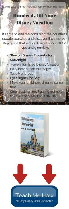 This great Disney World on a budget e-book will teach you all of the tricks you need to take an affordable and magical vacation at Walt Disney World! #affiliatelink #disneyworld #waltdisneyworld #wdw #ebook #moneysaving #budget #tripplanning #disney