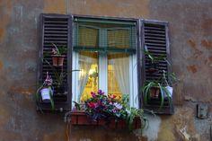 Ventana en Roma