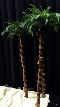Palm trees The Little Mermaid Musical, Jungle Flowers, Under The Sea, Flower Decorations, Plant Hanger, Palm Trees, Jr, Indoor, Inspiration