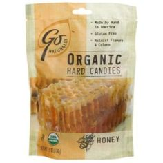 I'm learning all about Hillside Candy Gonaturally Organic Honey Gluten Free Hard Candies Bags at @Influenster!
