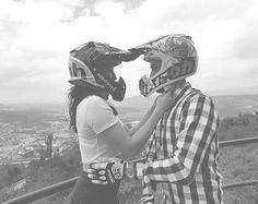 Motocross Love, Offbeat Bride, Grooms, Brides, Wedding Inspiration, Vintage, Boyfriends, Wedding Bride, Bridal