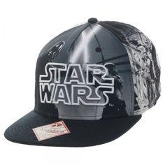 best sneakers be57b 88459 Star Wars Sublimated Character Snapback Baseball Cap Flat Hats, Nerd  Fashion, Star Wars Merchandise