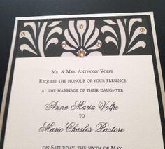 #WeddingInvitation #Blingvitationstheknot