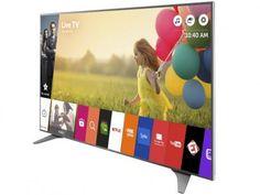 """Smart TV LED 75"""" LG 4K Ultra HD 75UH6550 - Conversor Digital 3 HDMI 3 USB Wi-Fi com as melhores condições você encontra no Magazine Tonyroma. Confira!"""