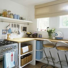 comment amenager une petite cuisine - Amenager Une Petite Cuisine En Longueur
