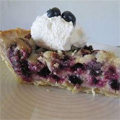 True Blue Custard Crunch Pie - Allrecipes.com