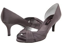 dark silver shoes weddings | Cool Shoes | Pinterest | Wedding ...