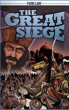 The Great Siege, written by Glen Downey, illustrated by Mike Rooth Graphic Novels, Timeline, Hero, Adventure, Education, Comics, History, Illustration, Comic Book