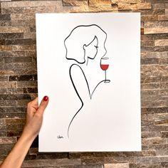 Line Art Design, Fashion Wall Art, Canvas Prints, Art Prints, Small Art, Teaching Art, Line Drawing, Sculpture Art, Wallpaper