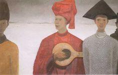 Les Mi-Caremes by Jean Paul Lemieux Jean Paul Lemieux, For Your Eyes Only, Lovers Art, Les Oeuvres, Custom Framing, Find Art, Framed Artwork, Art Prints, Print Poster