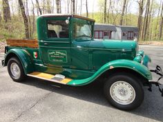 1927 Pick Up, Green, Ford 5.0 302 engine, 5 speed