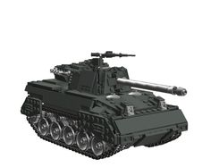 M18 'Hellcat' Tank Destroyer: A LEGO® creation by Alex Sonny : MOCpages.com