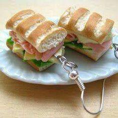 Aretes sándwich
