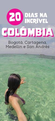 Roteiro na Colômbia, Bogotá, Cartagena, Medellin, San Andres    #viagem #colombia #sanandres #medellin #cartagena #bogota #americadosul #americalatina #blogdeviagem #roteiro