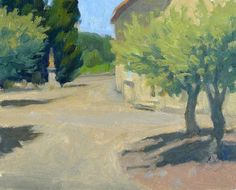 IanRoberts.com - Gallery - Plein Air painting done this spring