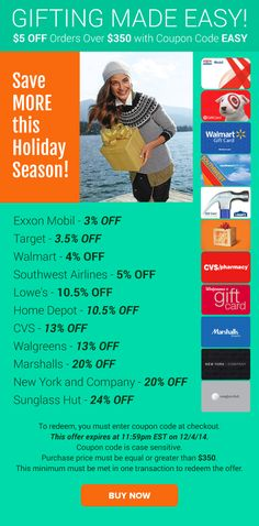 Gifting Made Easy: Lowe's 10.5% OFF, CVS 13% OFF, Marshalls 20% OFF & More