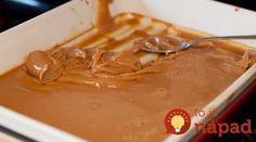 Domáce karamelové salko hotové za 10 minút Peanut Butter, Curry, Pudding, Beef, Cake, Ethnic Recipes, Food, Caramel, Meat