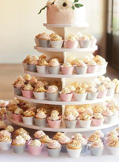 wedding cake idea; Featured Photographer: Love Like Weddings