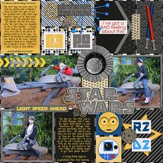 Speeder Bike - Disney - Scrapbook.com