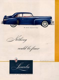 Lincoln 1947. and 'box' idead. convert to css