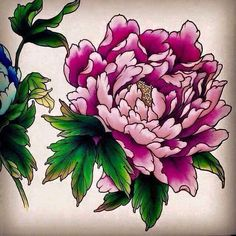 Most recent Pictures Peonies dibujo Ideas The peony can be outrageously stunning flowering out of spring season to help summer—using abundant foliage Peony Flower, Flower Art, Tie Dye Crafts, Japanese Drawings, Peonies Tattoo, Botanical Tattoo, Japanese Sleeve Tattoos, Desenho Tattoo, Japanese Flowers